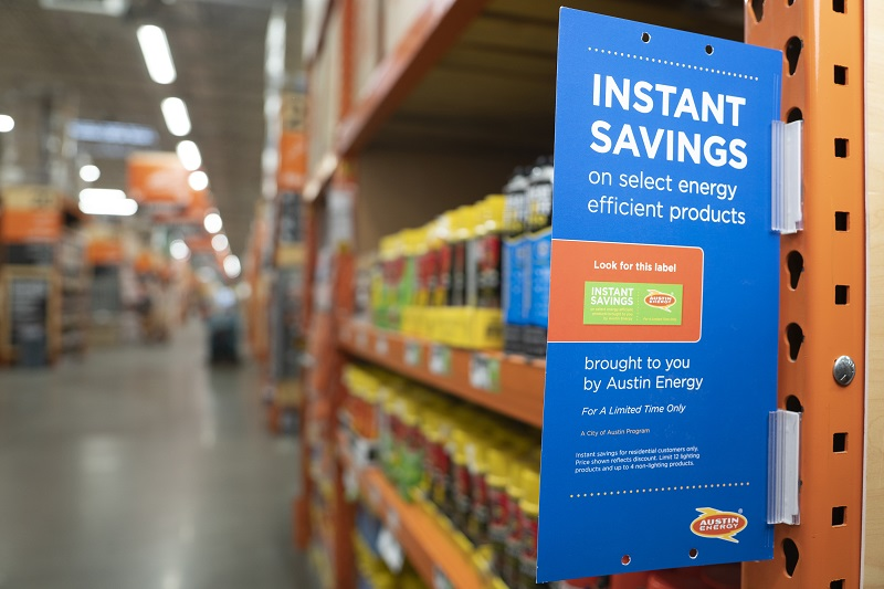 Get Instant Savings on Energy-Efficient Products