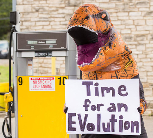 EV T-Rex Says Time for EVolution
